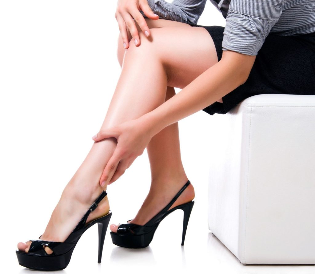 What type of high heels to wear if you are a receptionist