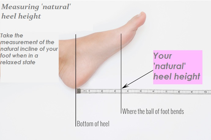 'Natural' heel height