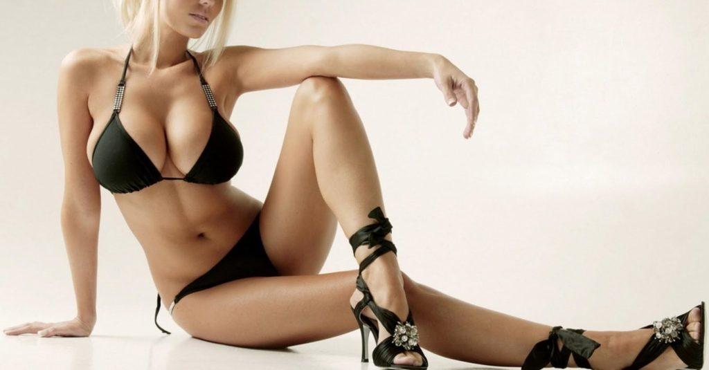 image Walk in high heels 20 cm legs in body pantyhose
