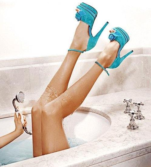 blue-high-heels